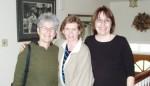 Dot Maver, Rita Marie Johnson & Paula Guarnaccia