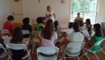 Rehearsing Children's Peace Songs, August 2011