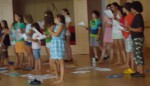 Recording Children's Peace Songs, August 2011